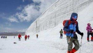 【野骆驼户外】1月29日~30日冰川徒步摄影活动